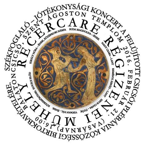 régizene műhely logó